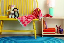 for the little people / Spaces where children can run wild, jump, play and snuggle up (or 'cwtch' as we say in Welsh)