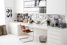 Workspace / Get organised and inspired with these unique and creative workspaces...