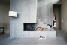 Concrete Living / Used within the home, concrete can create a contemporary and unique living space...