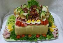 Slané torty a zeleninové dobroty