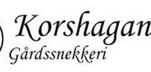 Korshagan gårdssnekkeri / Møbler håndlaget av erfaren tømrer på Gran, Hadeland.