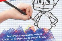 Desenhe e Crie! / Cursos para crianças, adolescentes e adultos na Oficina de Desenho Daniel Azulay - Largo do Machado.  Inciante, Mangá, Pintura em Tela, Desenho Artístico, Animação, THE.e outros....