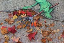 Kunst buiten de deur - Street and Land Art