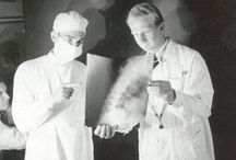 Vintage Lab Coat Photos / Lab coats have been around for quite some time! Check out some of these vintage pictures of some vintage lab coats!