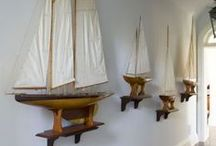 Ship Models / Ships models are a fun addition to any nautical theme or just as a way to spruce up a well-used area like a mudroom. They offer instant character and are easy to setup; all you need is a shelf or small bit of top dresser space. They are fun for all ages offering timeless delight and classical charm. / by Nantucket Brand Clothing Co