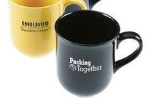 Top Mugs / Thirsty for success? Promotional mugs are a popular & refreshing way to display your message.  Let them enjoy a morning cuppa with your logo!  Choose Ceramic, China, Porcelain or Plastic to suit your needs and budget.
