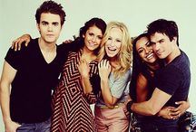 The vampire diaries / Was one of my favourite shows. Until they killed off Damon :'(