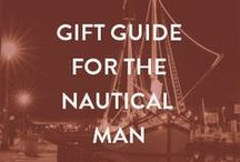 "2014 Holiday Gift Guide for Men / Shop our men's gift guide to find our top 10 picks of gifts to give the ""nautically inspired"" man on your list this holiday season. / by Nantucket Brand Clothing Co"