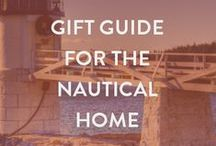 "2014 Holiday Gift Guide for Home / Shop our nautical decor gift guide for our picks of the best 11 gift items for the ""nautically inspired"" person on your list. / by Nantucket Brand Clothing Co"