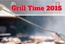 Grill Time / We love living in San Diego where it's always Grill Time! Check out this fun board for all things patio, outdoor kitchen, and backyard related.