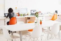 & workspace / Ideas that I love to decorate and organize my workspace