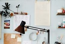 HOME → Working Space / It's just so important to work in a creative and inspiring space!