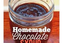 Do-It-Yourself / Do-It-Yourself recipes or ideas to make your life easier! Prefer homemade chocolate syrup for chocolate milk? Or homemade nut butter? Find it on my blog, as well as many more easy, healthier options!