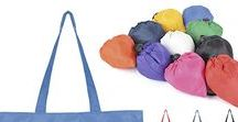 Top Reusable Shoppers / Scrunch up, pack up, fold away .. reusable tote bags are a must!