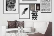 Residential Interiors / Beautiful  interiors, with fabulous accessories that make these spaces so warm, cozy and inviting.