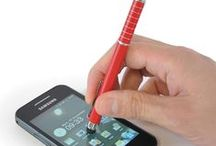 Top Stylus Pens / Stylus Ballpens - multifunctional, on-trend marvels! 2 in 1 pens with a techy extra.