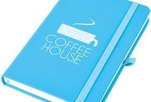 Top Notebooks / The write choice for their thoughts & your logo!