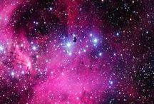 Universo / Galáxia e suas cores divinas.
