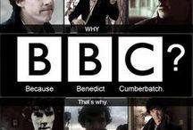 Sherlock / Also featuring Benedict as Benedict.