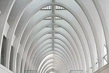 Santiago Calatrava / Architecture  - Santiago Calatrava is a Spanish architect known for his structural projects and buildings as bridges and airports mainly in Valencia, Lyon, Dubai, New York, Reggio Emilia