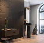 Męskie wnętrza/ Men's Interior / Dla prawdziwych mężczyzn ceniących sobie dobry styl! Znajdziecie tutaj mnóstwo inspiracji, które pomogą Wam zaaranżować wnętrze na najwyższym poziomie. mężczyzna I męskie wnętrza I łazienka I dekoracje I aranżacja I architektura I bathroom I bathroom inspiration I ceramic | ceramic tiles | men I accesories | simplicity | interior | wooden | mosaic | rustic | modern