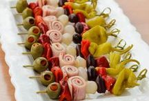 Appetizers & Drinks / Party food / by Tia J
