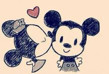 Everything Disney :D / It all started with a mouse.