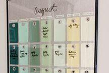 Getting organized  / by Karen Gabriela