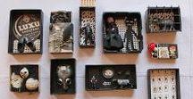 Altered Tins / Fantastic tiny art boxes.