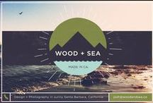 Wood + Sea Co. / Design from the Wood + Sea Co. studio.
