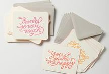 cards and stationary / by Tiffany Colmenares
