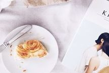 food loveliness / food photography inspiration - beautiful staging, designs, and light.