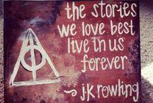 It's all magic ⚡ / #magic #world #dragons #hogwarts #harry #potter #ravenclaw #books #jewelry