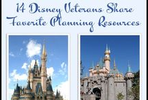 Disney Planning Resources / Resources we love and use to plan our Disneyland and Disney World vacations