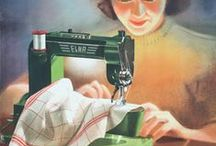 Syning Sewing / Especially vintage sewing machines / by h hansen