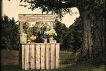 Kraampjes/ Wedding stand