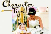 Disney Character Encounters / Tips for creating and capturing magic with Disney characters at Disneyland and Disney World