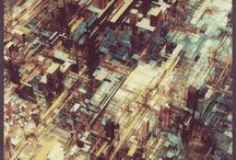 SciFi Landscapes / by Black White