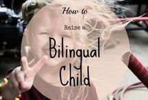 Raising a balanced Bilingual family / Useful information on bilingual child's development and how to be a bilingual family. Activities and tricks on how to promote language learning.