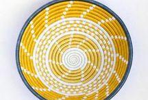 Peace Collection - Rwanda / Beautiful, sturdy baskets woven from local grasses in Rwanda