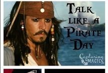 Celebrate Talk Like a Pirate Day Sept 19th Disney Style / Ideas for celebrating Talk Like a Pirate Day in Disney style: crafts, meals, activities, magic memories.