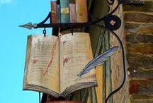 Boeken, boeken, bérgen boeken / by Petra