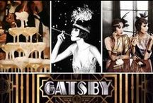 The Great Gatsby wedding theme / Great Wedding theme which combines vintage, roaring twenties and city chic!