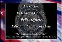 Our Fallen Officers / These officers made the ultimate sacrifice while upholding the Division's Mission and Values. Here we pay tribute to them. / by Henrico Police