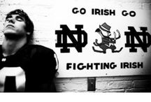 Notre Dame Irish / My family is divided between Notre Dame & Michigan fans...I selected the greater of the two.  / by Kathy Damato