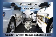 Henrico Police Careers in Law Enforcement / Learn more about an exciting career as a police officer, animal protection police officer, or communications officer by visiting our website at www.henricopolice.org. Now accepting applications for Police Officer through December 28, 2015 and for Communications Officer through October 19, 2015.  / by Henrico Police