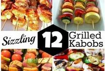 kabobs / skewers / by Mary May