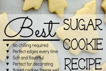 Cutout Cookie Recipes / Looking for cookies that taste great & hold their shape.