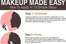 Makeup tips, tricks and DIY's / Tips and trick for makeup to improve your skill also some DIY's