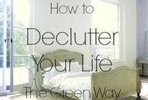 Decluttering life / According to a UCLA study clutter is officially bad for you. Time to declutter your life!